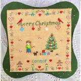 All Children Love Christmas -Boy (Buttons included) - Stickvorlage MTV Designs