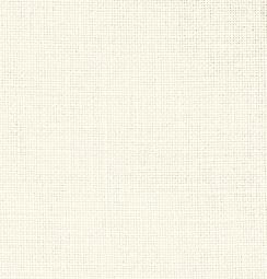 Zweigart Cashel 28ct, 11fädig Meterware Farbe 101 naturweiß