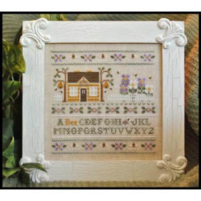 A Bee C Sampler - Stickvorlage Country Cottage Needleworks