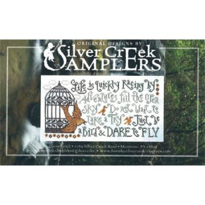 Silver Creek Samplers Stickvorlage Dare To Fly