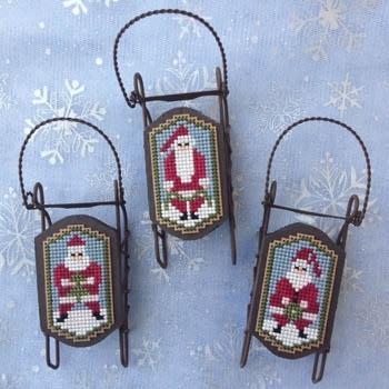 Foxwood Crossings Stickvorlage Santa Folk
