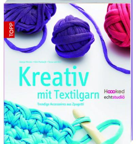 Häkeln Kreativ Mit Textilgarn Hoooked Häkelbuch Topp Frechverlag