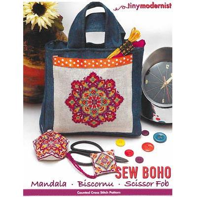 Sew Boho Mandala Set - Stickvorlage Tiny Modernist Inc