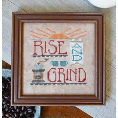 Rise & Grind - Stickvorlage Hands On Design