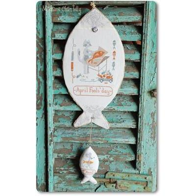 Stickvorlagen Madame Chantilly Pesce dAprile
