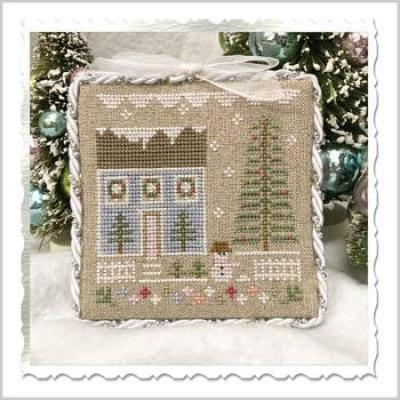 Kreuzstichvorlage Country Cottage Needleworks - Glitter House 1