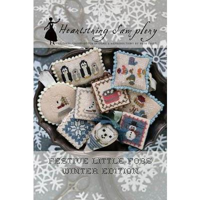Festive Little Fobs 11 - Winter Edition - Kreuzstichvorlage Heartstring Samplery