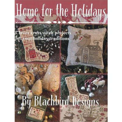 Kreuzstichvorlage Blackbird Designs - Stickbuch Home for the Holidays
