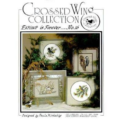 Crossed Wing Collection Stickvorlage Extinct Is Forever