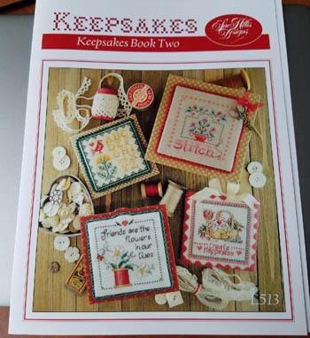 Kreuzstichvorlage Sue Hillis - Keepsakes Book Two