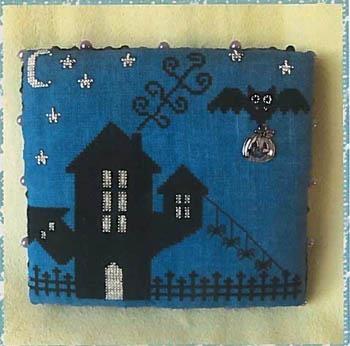 Romys Creations Stickvorlage Halloween Castle