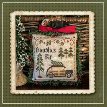 Little House Needleworks Stickvorlage Jack Frosts Tree Farm 2 Douglas Fir