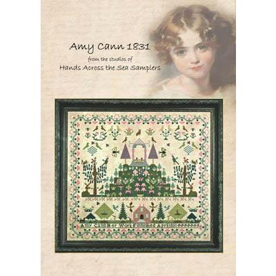Hands Across The Sea Samplers Stickvorlage Amy Cann 1831