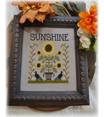 Annie Beez Folk Art Stickvorlage Sunshine