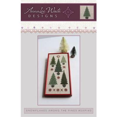 Stickvorlage Annalee Waite Designs Snowflakes Among The Pines