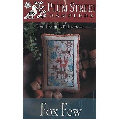 Plum Street Samplers Stickvorlage Fox Few