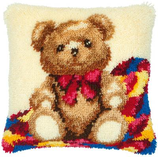 Vervaco Knüpfpackung PN-0014124 Teddybär 40x40