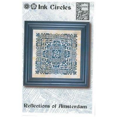 Stickvorlage Ink Circles Reflections Of Amsterdam