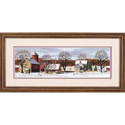 Stickpackung Dimensions 03841 Scenic Farm 45,7x14,6