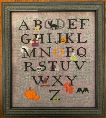 Stickvorlage AuryTM Designs Halloween ABC