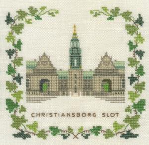 Stickpackung Haandarbejdets Fremme 17-5133,1 Schloss Christiansborg Kopenhagen 15x15
