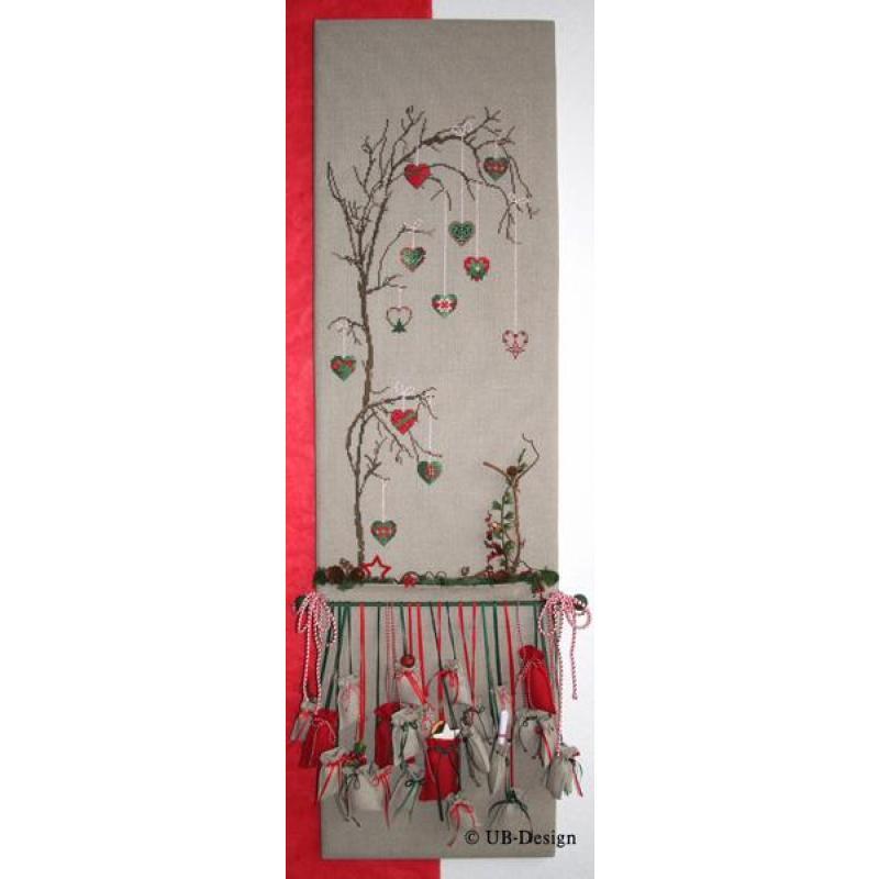 kreuzstichvorlage ub design 24 tage bis weihnachten. Black Bedroom Furniture Sets. Home Design Ideas