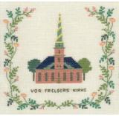 Stickpackung Haandarbejdets Fremme 17-5131,1 Erlöserkirche Kopenhagen 15x15