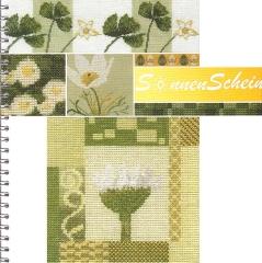 Kreuzstichvorlagen MWI Stickgalerie Flasdick - Stickbuch Sonnenschein