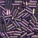 72051 Small Bugle Beads Mill Hill, Farbe Royal Mauve