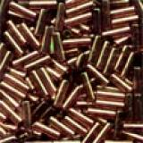 72053 Small Bugle Beads Mill Hill, Farbe Nutmeg