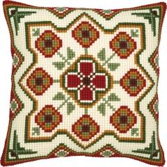 Kreuzstichkissen Vervaco PN-0008594 Geometrisches Motiv 40x40