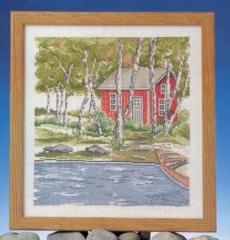 Haus am See - Stickpackung Oehlenschläger