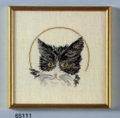 Katze (Aida) - Stickpackung Oehlenschläger