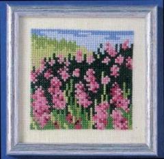 Oehlenschläger Stickpackung 42623 Lavendelfeld 10x10