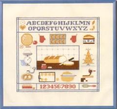 Küchensampler (Aida) - Stickpackung Oehlenschläger