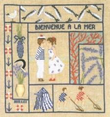 Monatsbild Juli - Stickpackung Bonheur des Dames