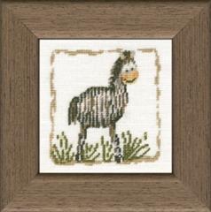 Lanarte Stickpackung 34872 Zebra 6,5x6,5