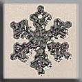 Mill Hill Treasures 12035 Small Snowflake Crystal Bright