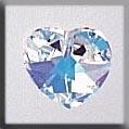 Mill Hill Crystal Treasures - 13036 Small Heart Alabaster Crystal