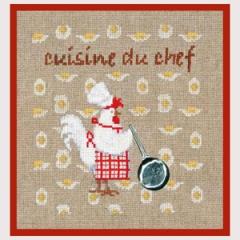 Geschenkbox Küchenchef - Stickpackung Bonheur des Dames