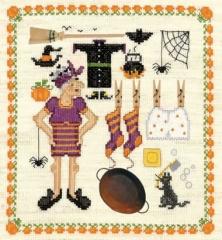 Hexen-Sampler - Stickpackung Bonheur des Dames