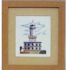 Oehlenschläger Stickpackung 50112 Leuchtturm 22x25