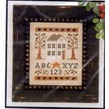 Little House Needleworks Stickvorlage ABC123