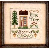 Little House Needleworks Stickvorlage Acorns & Pines