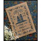 Kreuzstichvorlage Little House Needleworks - Always & Forever