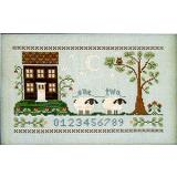 Little House Needleworks Stickvorlage The Counting House
