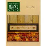 Bent Creek Stickvorlage Autumn Row