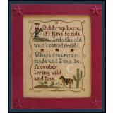 Country Cottage Needleworks Stickvorlage Cowboy Dreams