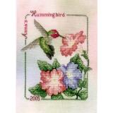 Crossed Wing Collection Stickvorlage Annas Hummingbird