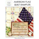 Rosewood Manor Designs Stickvorlage American Flag Quilt Sampler
